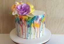 Cake by Ivy + Stone Cake Design