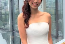 Bridal Gown & Makeup by Makeupwifstyle