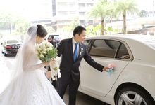 The Wedding Of Iskandar & Shendy by Priority Rent car