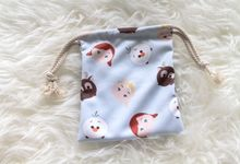 Small Drawstring Pouch by thepouch.id