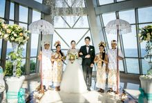 Wedding at Pearl Chapel Samabe Nusa Dua Bali by All that Bali Wedding