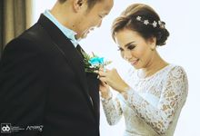 The amazing wedding party at kelapa gading Jakarta by strobist photo