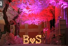 Wedding Pink & Purple Very Romantic by d'Oasis Florist & Decoration