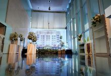 Wedding of Mr Lutfie and Ms Amanda by La'SEINE Function Hall