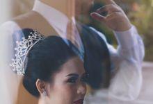 the wedding of Nando & Lia by Memoira Studio