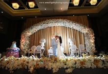 wedding Hepi ariel by Emolight Photography