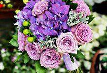 Purple Power by Bali Florista