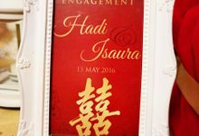 Engagement or Sangjit by Adikakak Partydecor