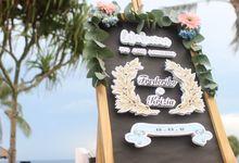 Wedding of Frederiko &  Krizia by Bali Yes Florist