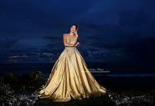 Moca Gold Ball Gown by Bali DressCode Safari & Photography