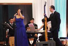 Wedding at Caspia Ballroom by X-Seven Entertainment
