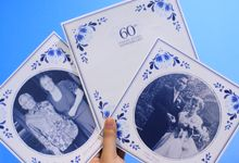 Wedding Anniversary Invitation Cards by Arkacipta Esetika