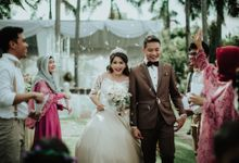 Surabaya outdoor wedding Brian & Nesya by Hexa Images