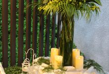 Tropical Rainforest Reception by Manna Pot Catering
