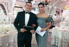 Eka & Ika Wedding Reception by Sari Nila