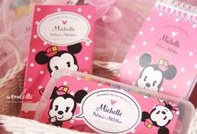 Mickey Minnie Hampers by Wonderee Decoration & Paper Goods