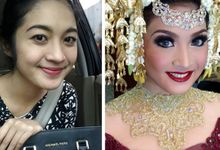 Catlin Wedding by Bennu Makeup