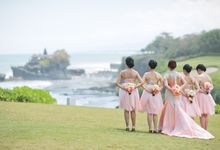 Richard & Ester by Lademoiselle Bridesmaids