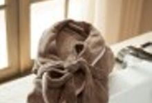 Personalized Bridal Bathrobe by Palmerhaus