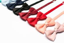 Bowties in colors and patterns by WIT Wear It Too