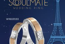 Endless Wedding Ring Collection by Adelle Jewellery