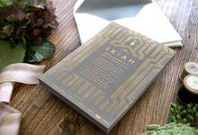 Bespoke Letterpress - IXIAH by Bespoke Letterpress