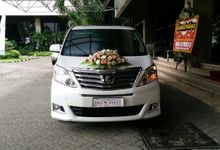 The Wedding of Ido & Sally by sapphire wedding car
