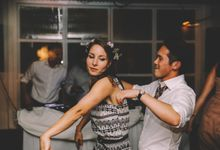Wayne & Sarah's Wedding at The White Rabbit by Caline Ng Photography