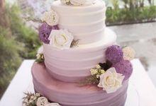 Wedding Cakes by Patisserie du Bonheur