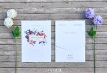 Albert + Sinthia by Caramel Card