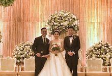 Wedding ceremony by MC Paul Frans