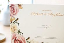Wedding of Michael & Maydeline by Memoir Paperie