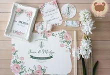Iwan Meilya Wedding by Pink Clover Design