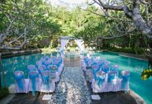Wedding and Dinner Reception of Putri and Tommy by Courtyard by Marriott Bali Nusa Dua