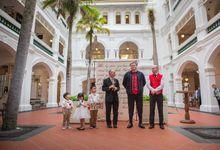 Wedding of Atli & Joey @ Halia at Raffles Hotel by The Halia
