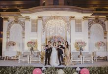 The real definition of Classic Wedding in Modern Beauty by Hummingbird Studio