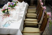 Wedding Table Setting by THIRTY TWO AT THE MANSION