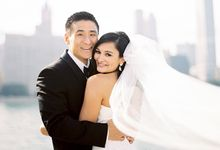Urban City Actual Day Church Wedding by Jeff & Loong Photography