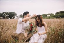 Warm engagement session in Penang  by Amelia Soo photography