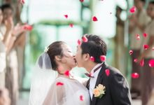 The Wedding of  Zhang Jun & Zeng Jinghui by Lestari Bali Pawiwahan