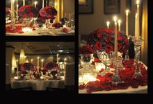 Romantic Dinner by AMJAD YAMANI wedding designer