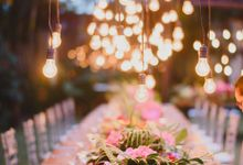 BBQ Wedding with Colourful Lush by DIJON BALI CATERING