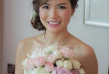 Wedding of Andrew an Jacqueline at The St Regis Singapore by Karis Chiu Makeup