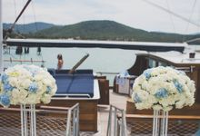 Yacht Wedding by Samui Weddings and Events