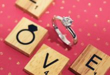 J & JQ Solitaire Proposal Ring & Wedding Bands by Vault Fine Jewellery