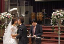 Dennis & Janetta // split day // holy matrimony // church wedding  // next day edit wedding highlight by Teck Kuan // 2013 by The Next Chapter Film