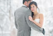 Winter Prewedding Hokkaido, Japan; the Otaru canal,  Niseko slopes by John15 Photography