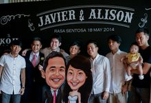 Caricature Lifestyle Wedding by Chere Weddings & Parties