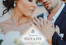 Bali Wedding - Elly and Jay at Segara Village Hotel by The Deluzion Visual Works
