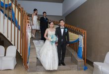 Blue - White Wedding by Menara Top Food Alam Sutera